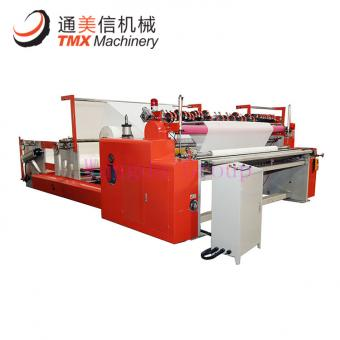 Fully Automatic Maxi Roll Rewinding and Slitting Machine